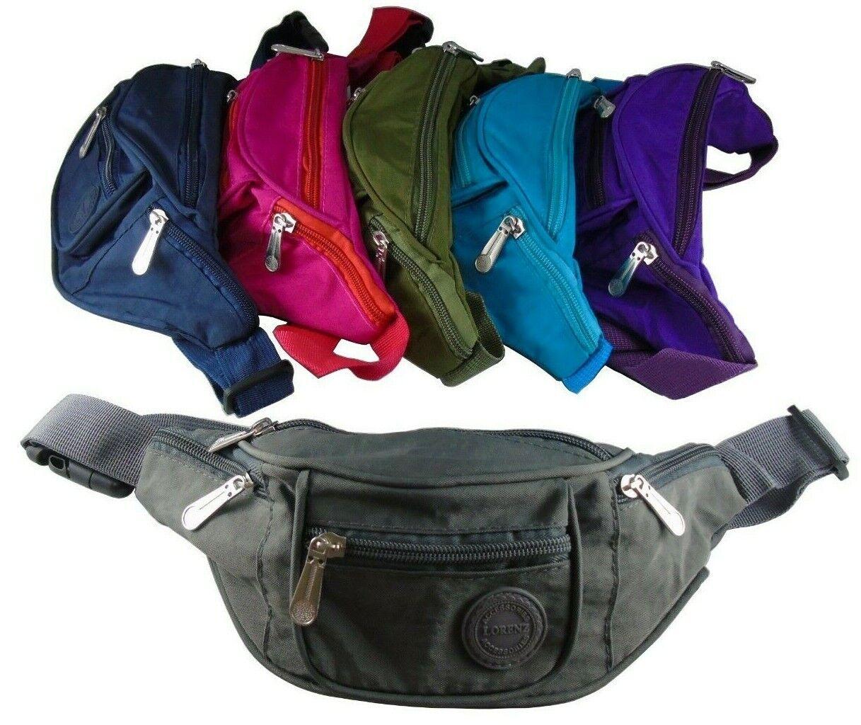 Waist Belt Bag for Girls Kids Teens Boys with Multi-Pockets DONVITER Fanny Packs for Women /& Men Casual Black Fanny Pack Cute Hip Bum Bags for Travel Hiking Concert Running Dog Walking