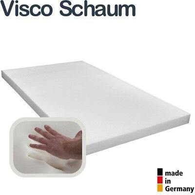 Verantwortlich Topper Viscoelastische Matratzenauflage Rg50/18 Viscoschaum Boxspringbettauflage Kunden Zuerst