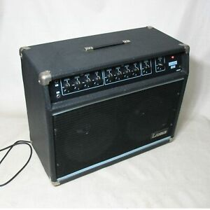LANDER-TWO-TEN-REVERB-VINTAGE-GUITAR-COMBO-AMPLIFIER-USA-MADE-GOOD-CONDITION