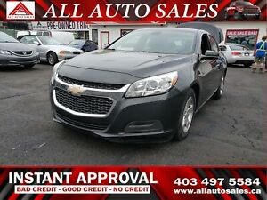 2015 Chevrolet Malibu LT INSTANT APPROVAL