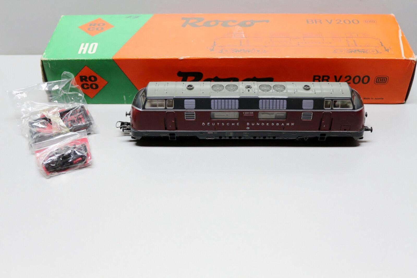 Roco 43928 corriente alterna digital diesellok serie v200 035 pista h0 OVP