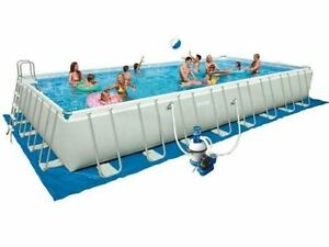 intex 28372 ultra frame 975 x 488 x 132 cm stahlrahmen swimming pool komplettset ebay. Black Bedroom Furniture Sets. Home Design Ideas