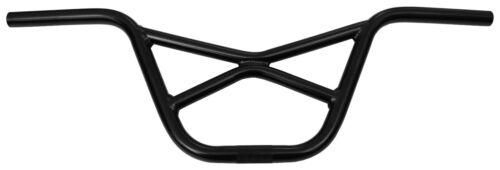 "Porkchop BMX aluminum bicycle /""X/"" handlebars 8 /"" rise 27/"" wide BLACK"