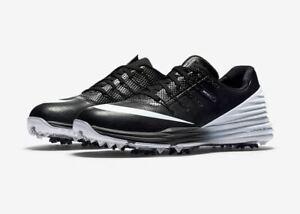 Nike-Lunar-Control-4-Wasserdichte-Golfschuhe-Damen-Gr-38-Schwarz-Weiss-819034-001