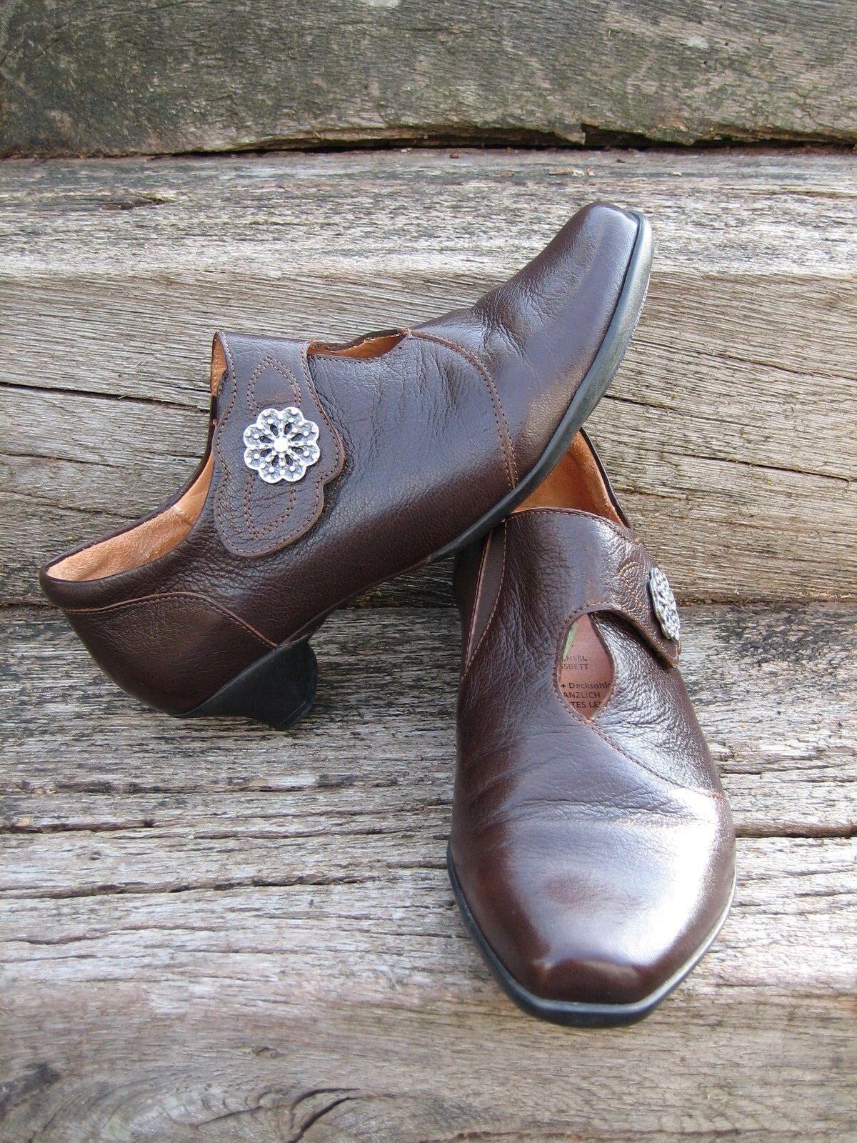 Think Schuhe Gr. 37 braun nur 1 x getragen  wie neu LOOK