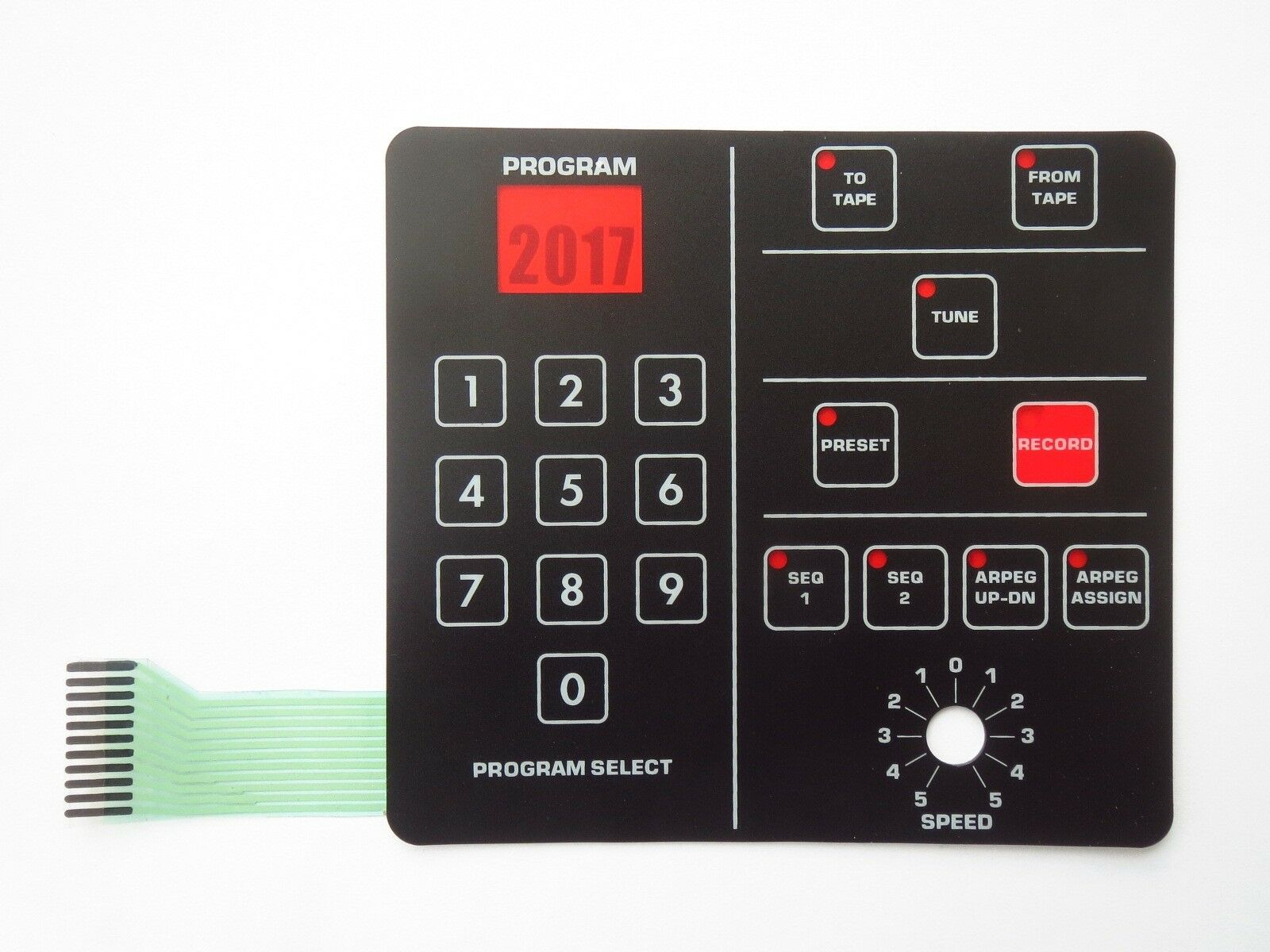 Membrane Switch Pad S-061 for Sequential Circuits Prophet-600