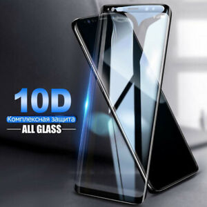 10D Curved Tempered Glass Film Protector For Samsung Note20 S20 S21 Ultra S10 S9