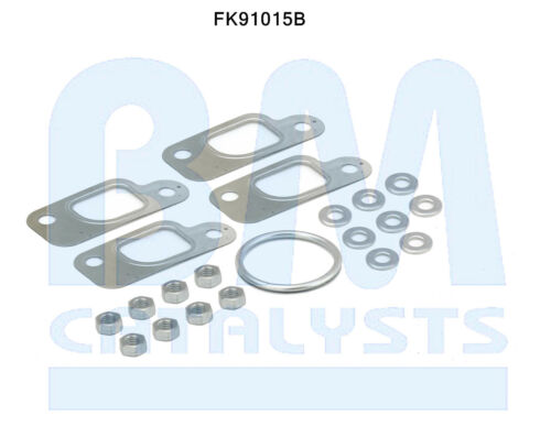 BM91015 FORD KA 1.3i 8//00-10//02 Manifold Catalytic Converter FITTING KIT B