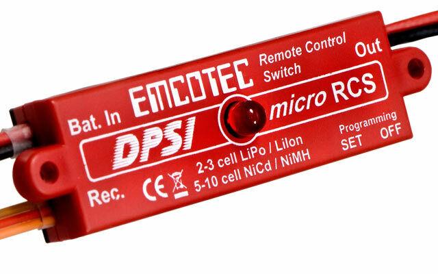 Emcotec DPSI Micro RCS Fernsteuerschalter Hacker A11065