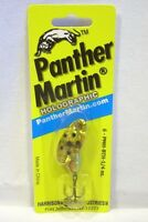 Panther Martin 1/4oz Brown Trout Holographic Spinner Fishing Lure