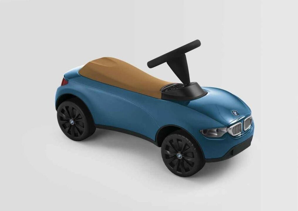 BMW Baby Racer III Türkis Karamell neuste Version 2018  Rutscherauto NEU/OVP