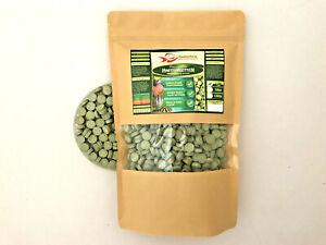 Pflanzenfutter-Hafttabletten-700-g-Futter-1Liter-TUTE-Tabletten-Fische-Welse