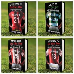 PERSONALISED-FOOTBALL-CLUB-TEAM-HISTORY-BOOK-FATHERS-DAY-CHRISTMAS-gift-idea