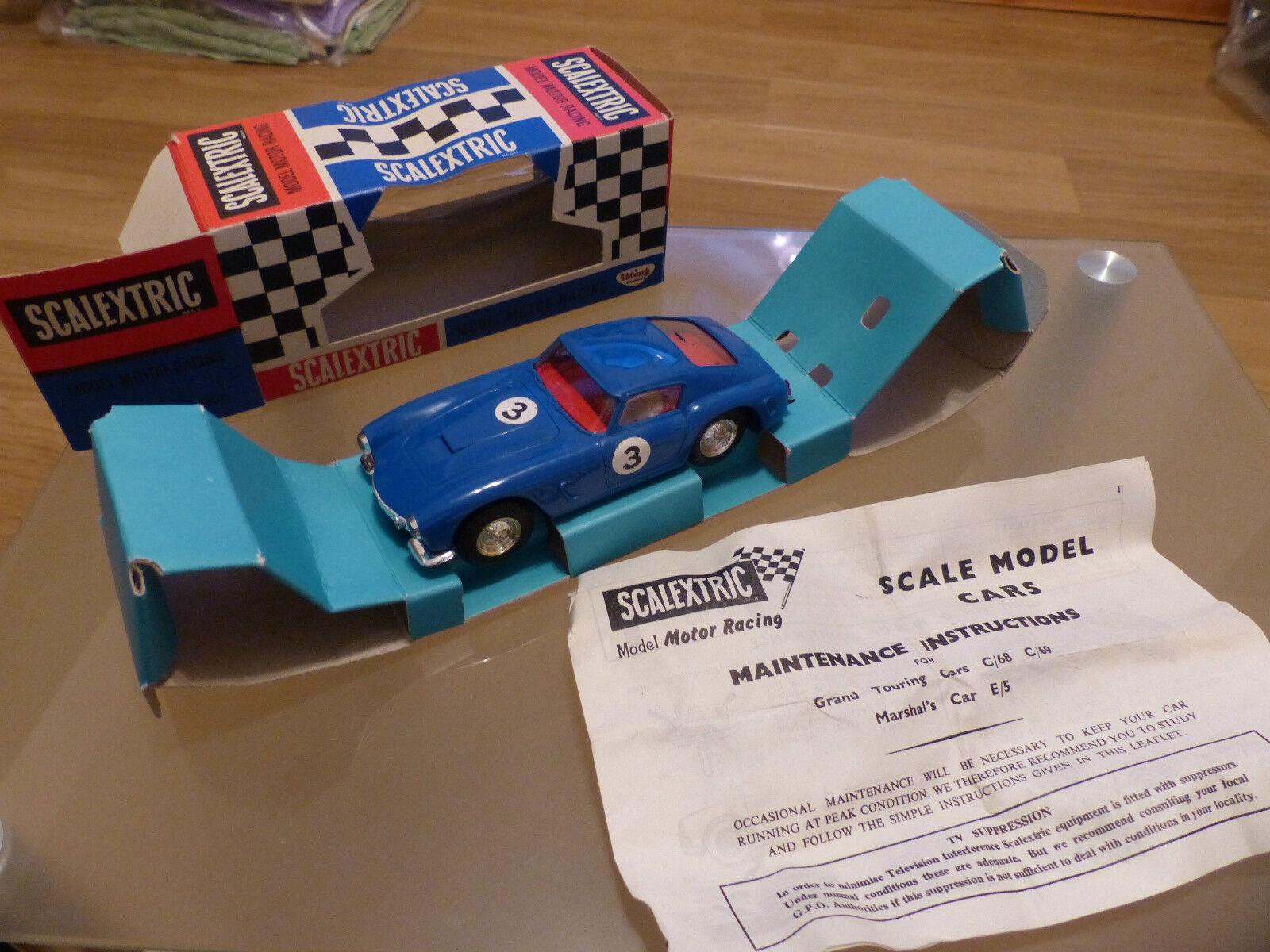 Scalextric Ferrari 250GT - - - C69 in bluee 243495