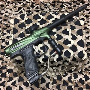 USED-Proto-Matrix-Rail-Electronic-Paintball-Gun-Marker-Olive-Black