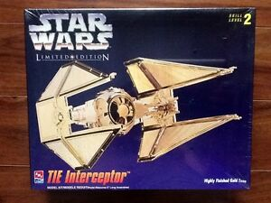 AMT-LIMITED-EDITION-STAR-WARS-TIE-INTERCEPTOR-MODEL-KIT-08770-FACTORY-SEALED