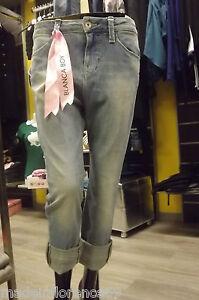 Blanca Pantalone Jeans Boy Boyfriend 25 28 Fornarina 27 Pantaloni 26 EZqx88