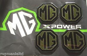 MGZT-MG-ZT-MGZT-T-Alloy-wheel-centre-badge-inserts-set-of-4-Pearlesant-Green