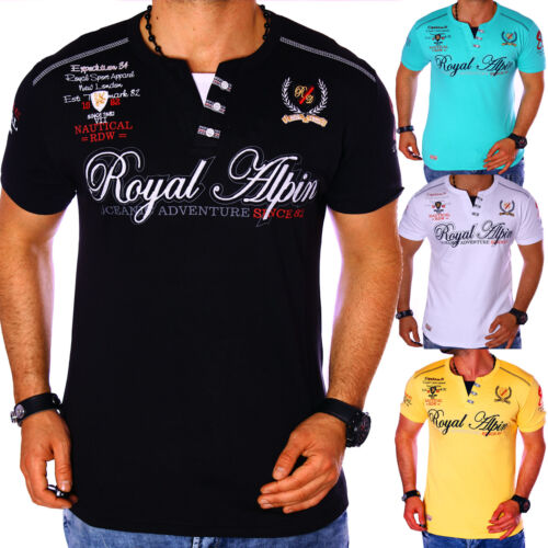 T-shirt hommes shirt shirts top qualité polo party clubwear royal wow m-3xl NEUF