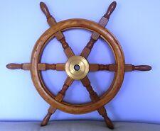 timone da nave nuovo in legno