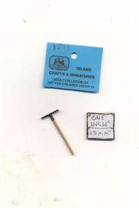 Half scale 1//24 1930s Telephone dollhouse miniature tool ISLX149
