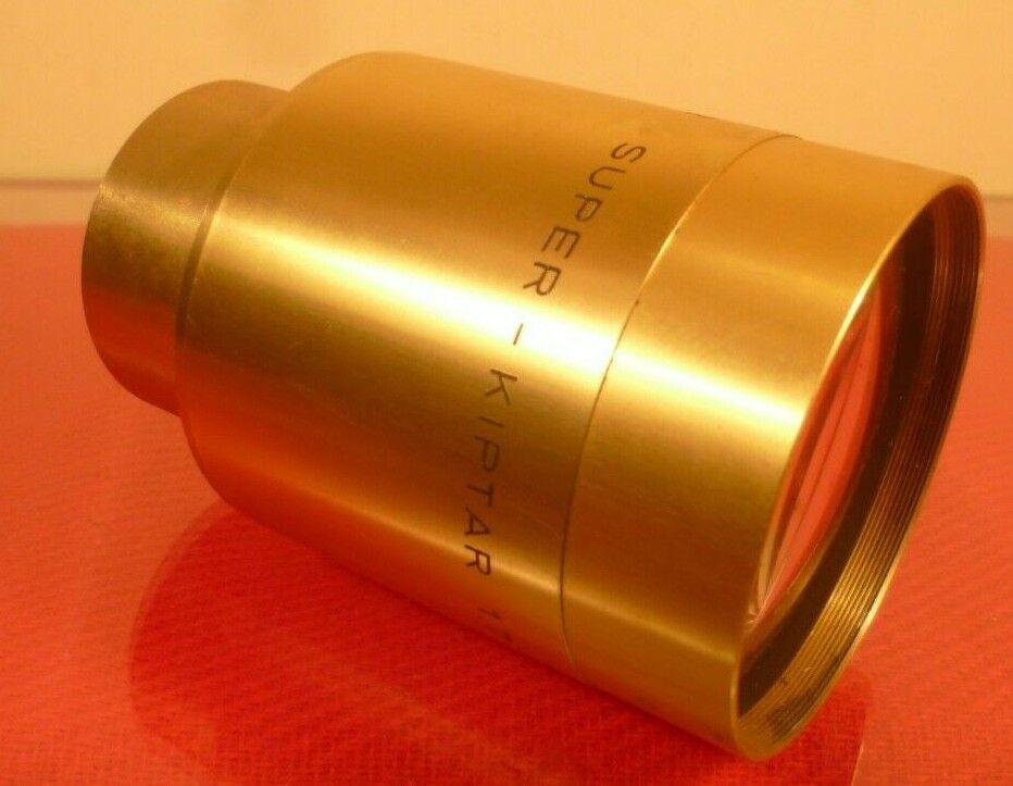 ISCO GOTTINGEN 35mm CINEMA PROJECTION LENS f1.7 115mm KIPTAR: MADE IN GERMANY