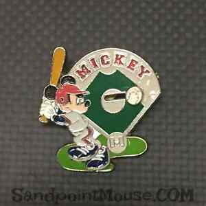 Disney-12-Months-Magic-Mickey-Baseball-Slider-Pin-UI-11966