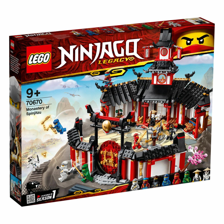 LEGO  ® Ninjago ® 70670  Monastère du Spinjitzu  Legacy Nouveau Neuf dans sa boîte nouveau En parfait état, dans sa boîte scellée  aucune hésitation! achetez maintenant!