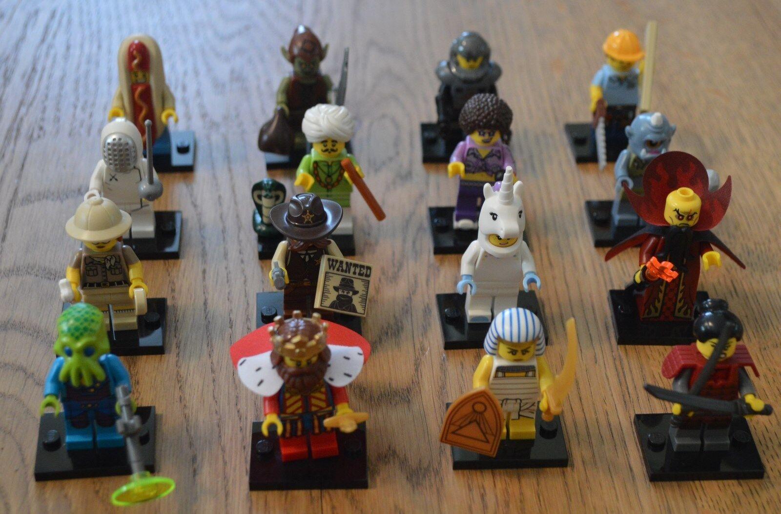 LEGO ® 71008 statuine MINIcifraS serie 13  tutti 16 COMPLETO PERSONAGGI-NUOVO  moda