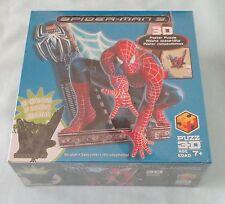 Marvel SPIDER-MAN 3 MOVIE Puzz 3D Foam Poster Puzzle Glow In The Dark Hangs 2007