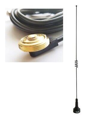 Dual Band Antenna UHF VHF 140-170 430-470MHz Magnet Mount PL259 Mobile Radio Ham