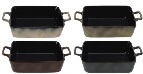 Ceramic 18x15cm Oven to Table Tapas Serving Dish with Handle
