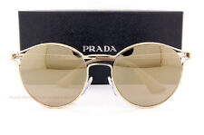 6327019ed8d7 PRADA 62ss Cinema Sunglasses Zvn1c0 Gold 100 Authentic for sale ...