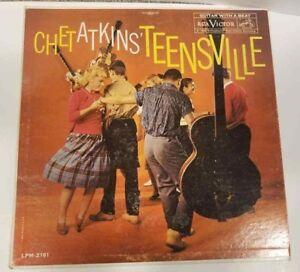 Chet-Atkins-Teensville-RCA-Victor-LPM-2161-1960-12-034-33-RPM-Vinyl-LP-G-Record