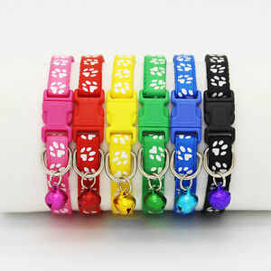 6-12-PCS-Colorful-Wholesale-Pet-Cat-Collar-Dog-Collars-With-Bell-Necklace-Buckle