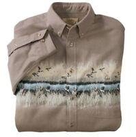 Cabela's Dogs-n-ducks Shirt – Regular, Men's Size M