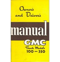 1950 Gmc Truck Owner's Manual