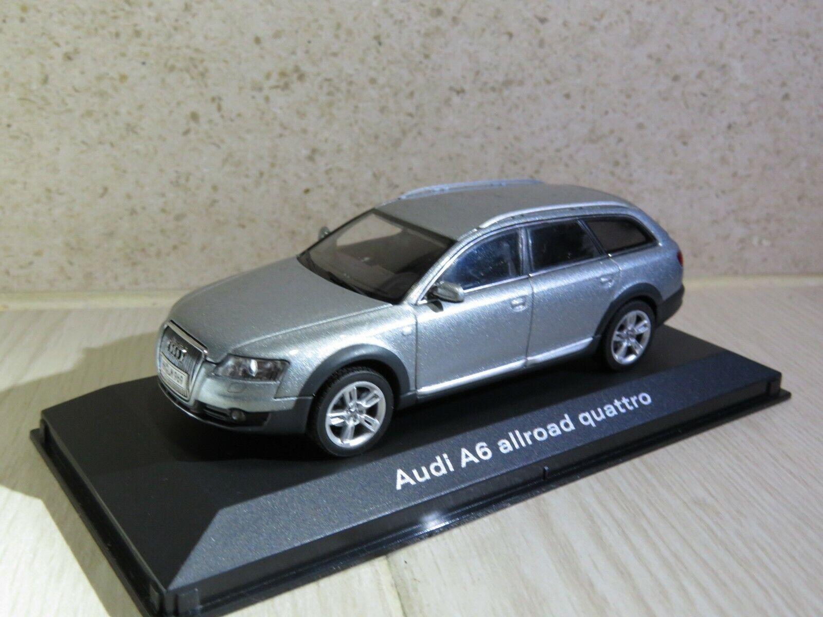 1 43 Audi A6 Allroad Quattro (2011) C6 diecast (dealer version) LS