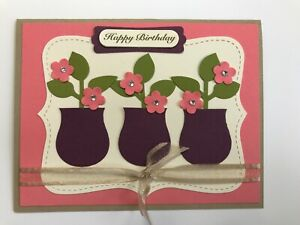 Stampin-039-Up-Coral-Birthday-Blooms-Card-Kit