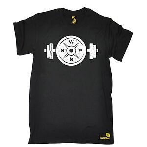 Гантель штанги пластина футболка Бодибилдинг фитнес-тренировок подарок на день рождения