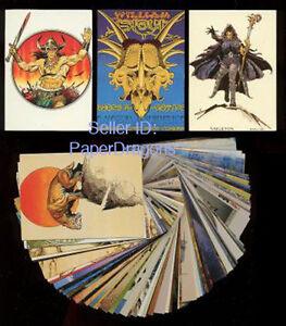 WILLIAM-STOUT-Series-1-90-Card-Fantasy-Art-Set-Comic-Images