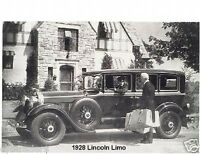 1928 Lincoln Limo Refrigerator Magnet