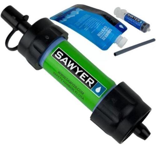Sawyer SP101 Mini Filtre à eau vert Sawyer approuvé européenne Détaillant