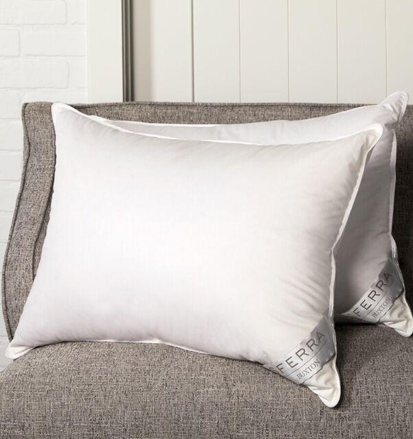 "Sferra Buxton Collection Standard Medium White Pillow 20 x 26/"""