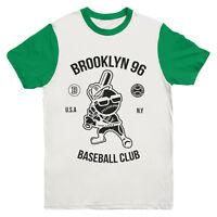 Brooklyn Baseball T Shirt Print Indie Hipster Urban Mens Girls Tee Top New Sizes