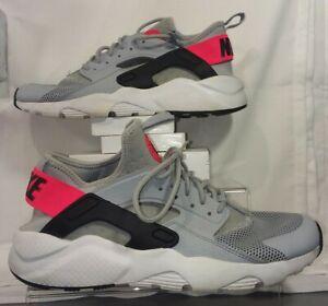 ir de compras Consciente de Tranquilidad de espíritu  Nike Air Huarache Run Ultra GS, 847569-003, Gray / White / Red, Size 6.5Y  91204927057 | eBay