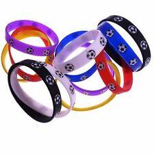 10 Stück Fan Armband Silikon Fanartikel Farben sortiert Fußball Nationalelf WM