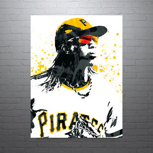 Image Is Loading Andrew McCutchen Pittsburgh Pirates Poster FREE US SHIPPING