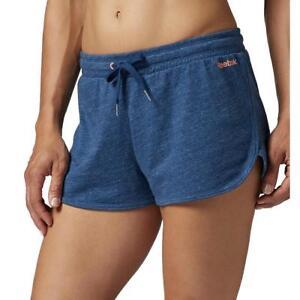 El Jersey Bleu Le Sur Entraînement Titre Reebok Wear Short Crossfit Afficher Détails Gym Femme Casual Elements D'origine 0OnPwk