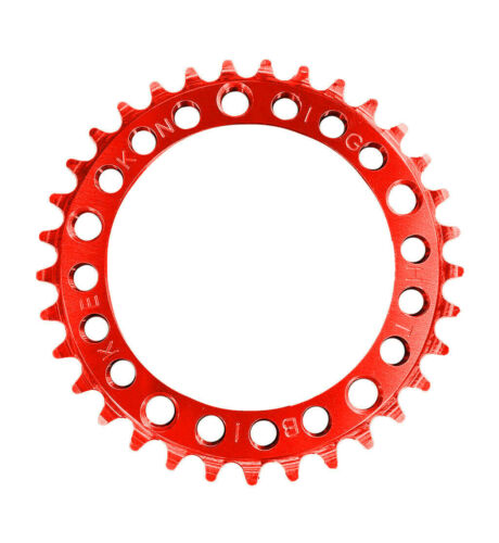 Knight RUF-TOOTH Chainring 33t RED 110 BCD 5-Hole SE Big Ripper Flyer GT Throne